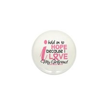Hope For My Breast Cancer Mini Button (10 pack)