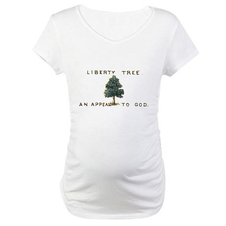 Liberty Tree Maternity T-Shirt