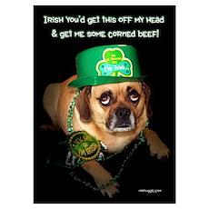 Funny Mc Puggle Poster