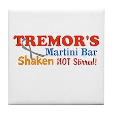 Parkinson's Tremor's Bar Tile Coaster