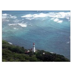 Hawaii Lighthouse Poster
