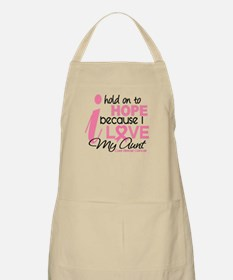 Hope For My Breast Cancer Apron