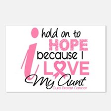 Hope For My Breast Cancer Postcards (Package of 8)