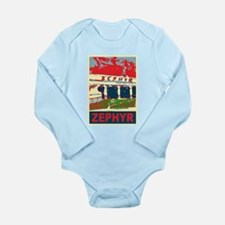 Pontchartrain Beach Long Sleeve Infant Bodysuit