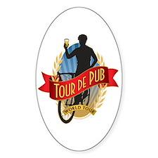 Tour de Pub Decal