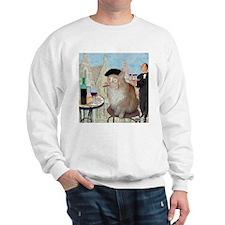 Le Cat du Cafe Sweatshirt