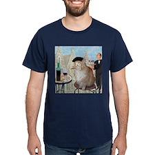 Le Cat du Cafe T-Shirt