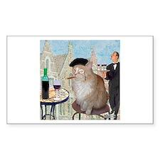 Le Cat du Cafe Decal