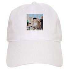 Le Cat du Cafe Baseball Cap