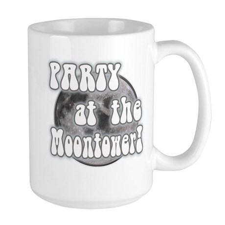Party At The Moontower Large Mug