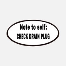 Note to Self... Check Drain P Patches