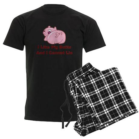 Pig Butts Men's Dark Pajamas