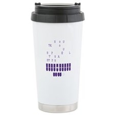 Cute Machine Travel Mug