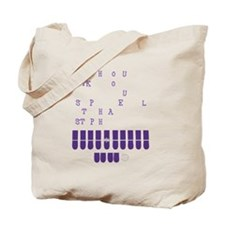 Cute Judge Tote Bag