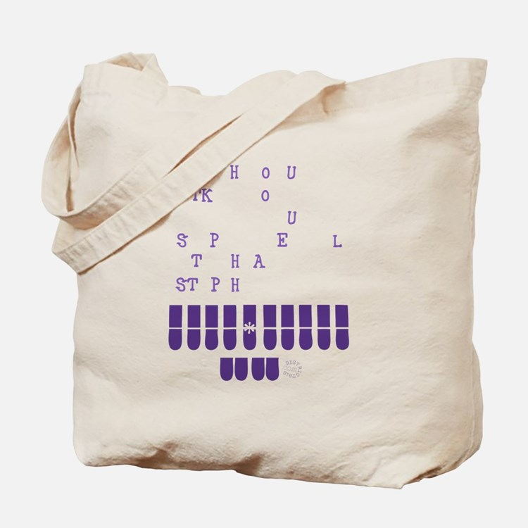 Cute Stenography Tote Bag