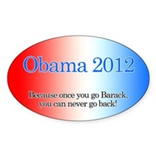 Obama for 2012, Decal