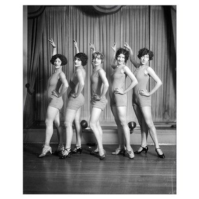 Chorus Girls, 1927 Poster