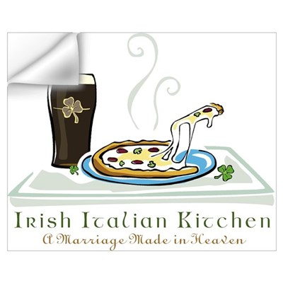 Irish Italian Kitchen Wall Decal