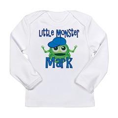 Little Monster Mark Long Sleeve Infant T-Shirt