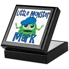 Little Monster Mark Keepsake Box