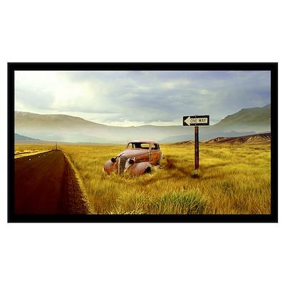 Nevada Desert Poster