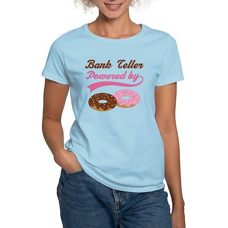 Bank Teller Gift Doughnuts Women's Light T-Shirt