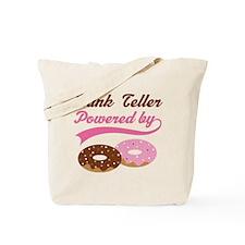 Bank Teller Gift Doughnuts Tote Bag