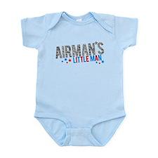 Airman's Little Man Infant Bodysuit