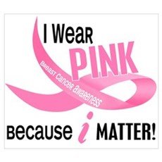 I Wear Pink For Myself 33.2 Poster