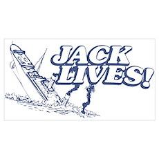 """""""Jack Lives!"""" Poster"""