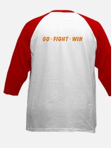 Orange WIN Ribbon Kids Baseball Jersey
