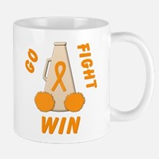 Orange WIN Ribbon Mug