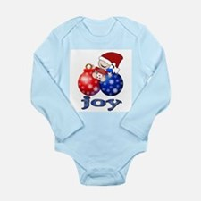 Baby Joy Holiday Long Sleeve Infant Bodysuit