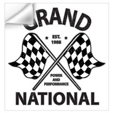 Grand National Wall Decal
