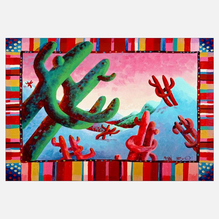 'Dancing Saguaros'