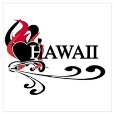 Heart Hawaii Poster