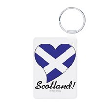 Heart Scotland (International) Aluminum Photo Keyc