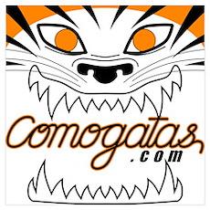 Tiger Logo Poster