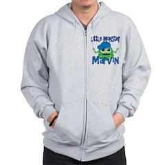 Little Monster Marvin Zip Hoodie