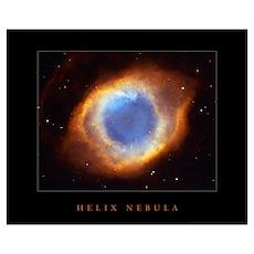 "Helix Nebula <br>(28"" x 23"") Poster"
