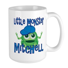 Little Monster Mitchell Large Mug