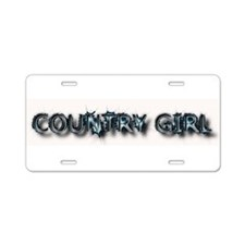 COUNTRY GIRL License Plate