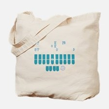 Stenography Tote Bag