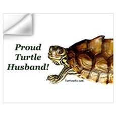 PROUD TURTLE HUSBAND Wall Decal