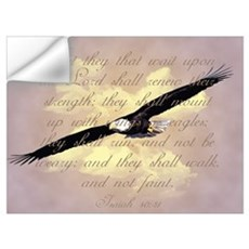 Isaiah 40:31, Wings as Eagles Wall Decal