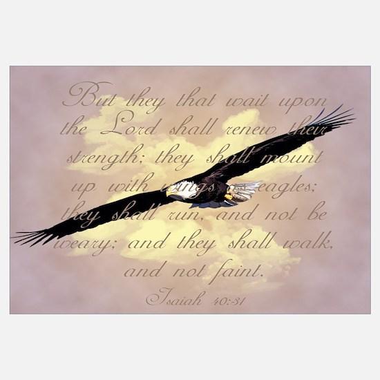 Isaiah 40:31, Wings as Eagles