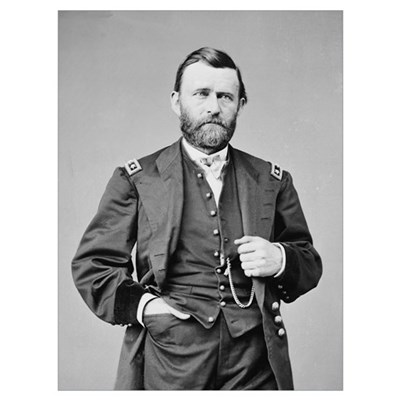 Lt Gen US Grant 1864 Canvas Art
