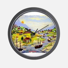 Cute Colonial style Wall Clock