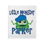 Little Monster Parker Throw Blanket