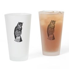 Retro and Vintage Fun Drinking Glass